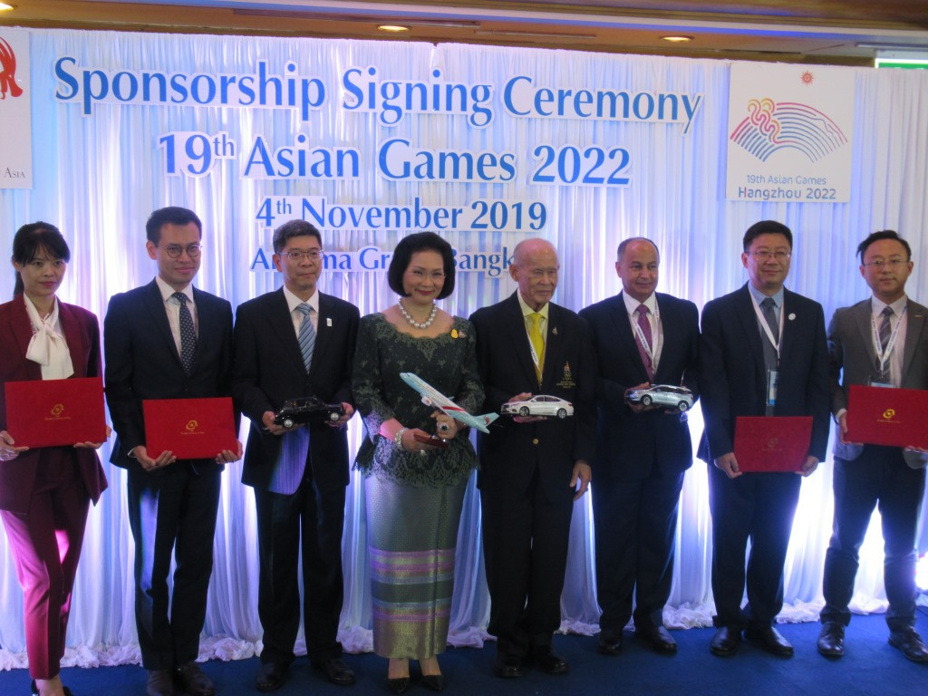 The signing ceremony took place in Bangkok ©OCA