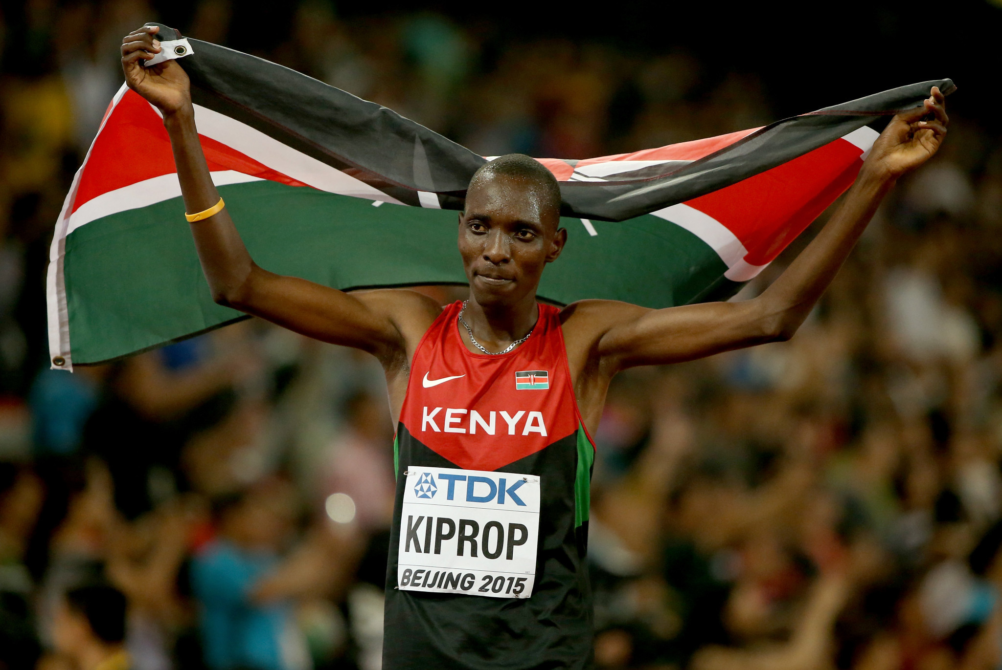 Three-time world champion and Olympic 1500 metres gold medallist Asbel Kiprop is one of 44 Kenyan athletes currently banned or suspended for doping ©Getty Images
