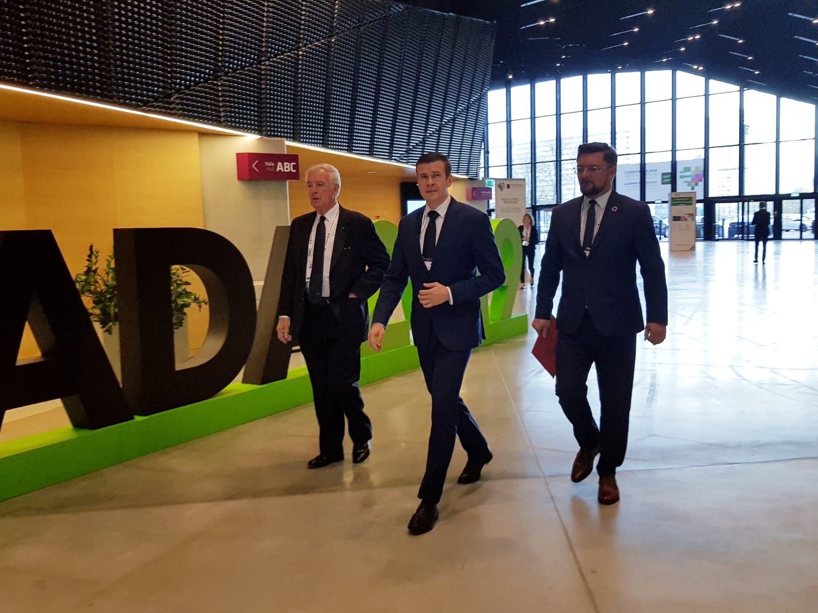 Sir Craig had arrived at the Conference accompanied by Poland's Sports Minister Witold Bańka - the man due to replace him as WADA President on January 1 ©Polish Ministry of Sport and Tourism