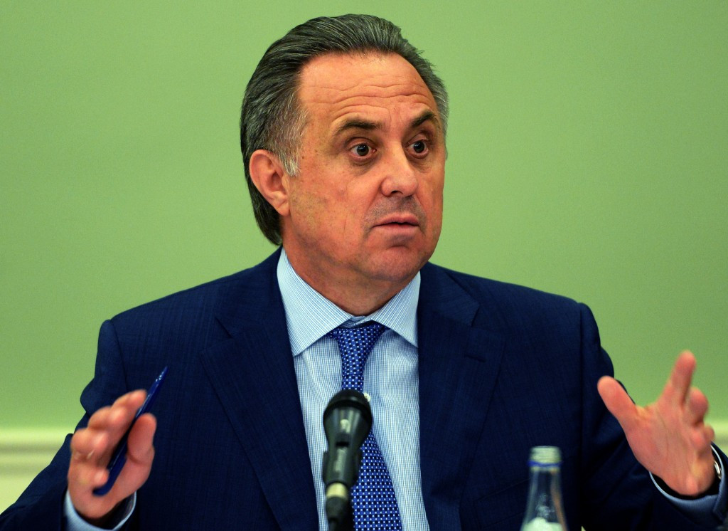 Russian Sports Minister Vitaly Mutko appears to have quashed any chance of an appeal by former IAAF treasurer and All-Russia Athletics Federation President Valentin Balakhnichev  ©Getty Images