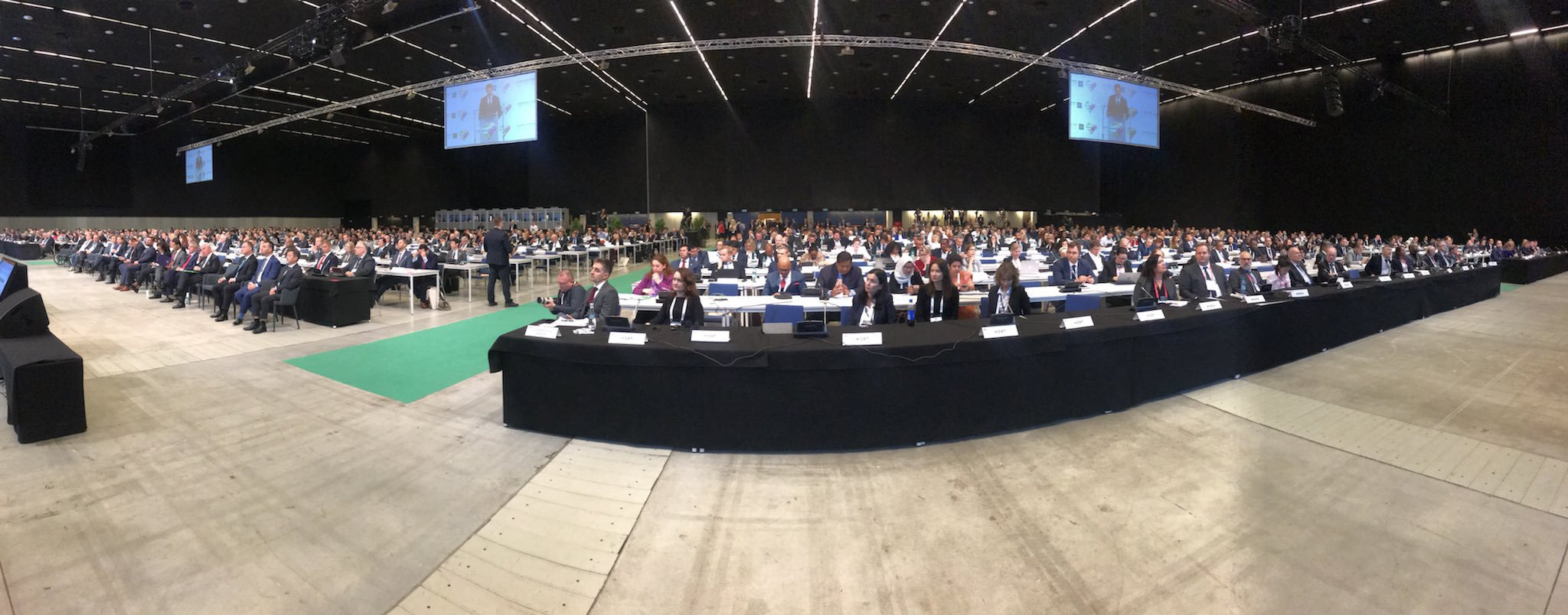 More than 1,600 from around the world are attending this Conference ©Polish Ministry of Sport and Tourism