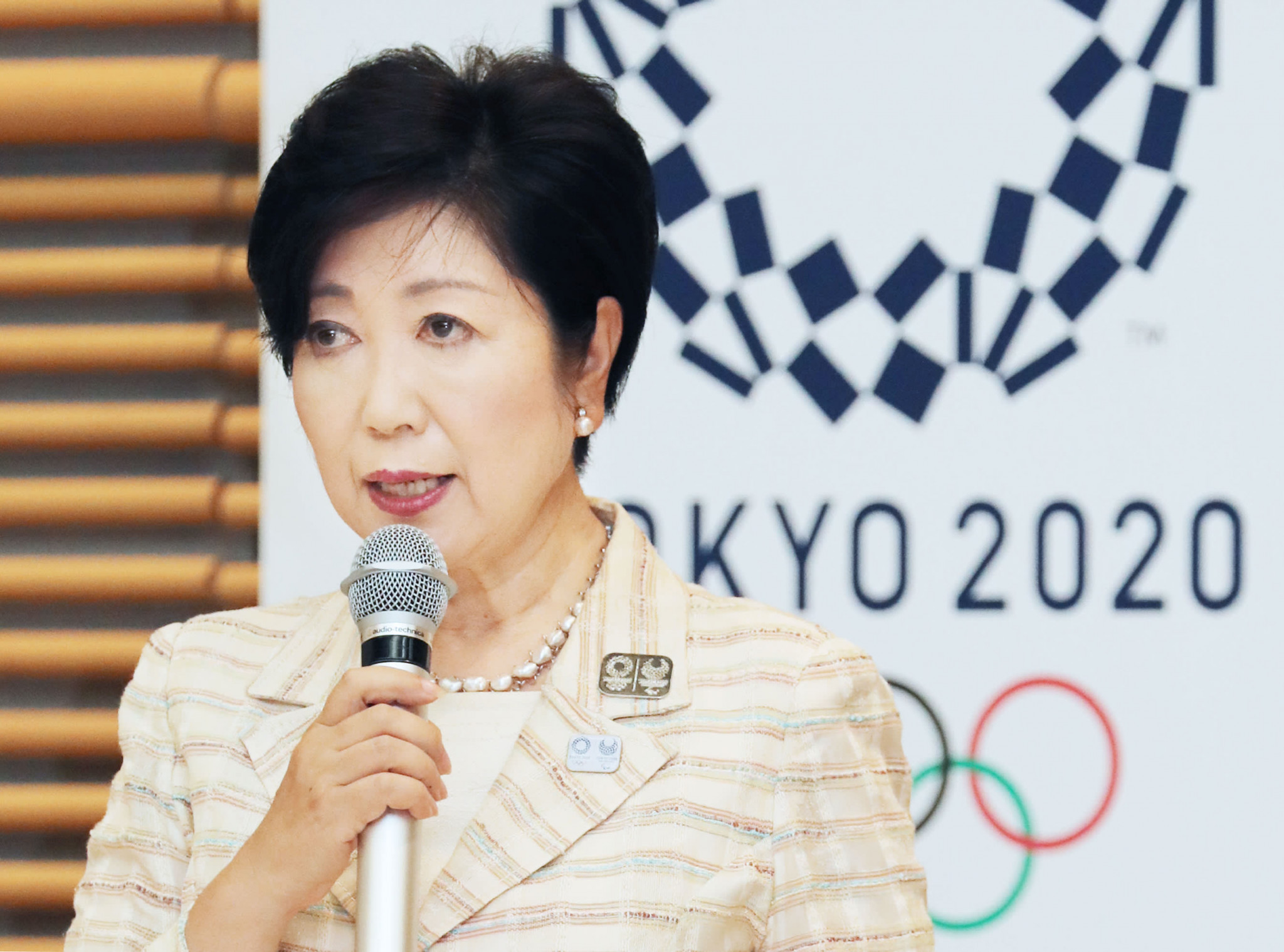 Tokyo Governor Yuriko Koike has said she does not believe cancellation of the Olympics will go ahead ©Getty Images