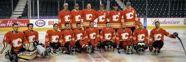 Calgary Flames sponsor Para-ice hockey team for USA Hockey Sled Classic