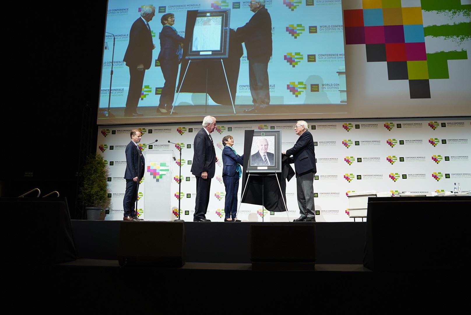 Sir Craig Reedie celebrated as prepares to step down as WADA President