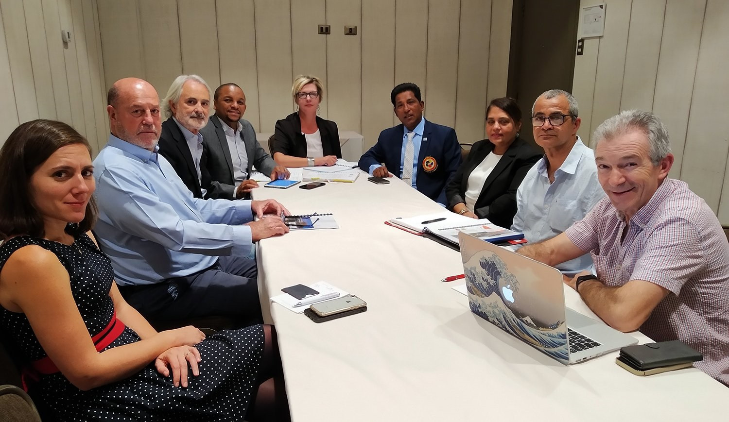 The meeting took place in Chile's capital Santiago during this year's Championships ©WKF