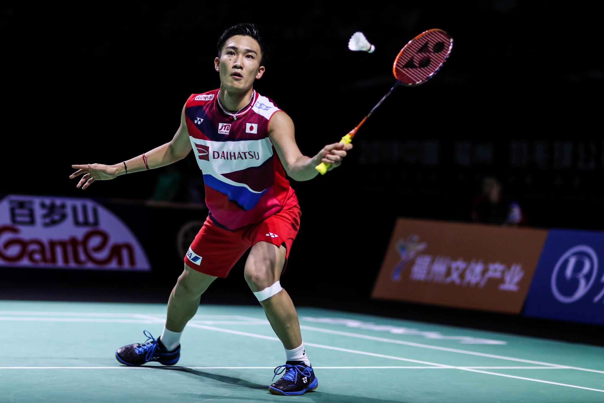 Momota battles past Axelsen to reach BWF Fuzhou China Open semi-finals
