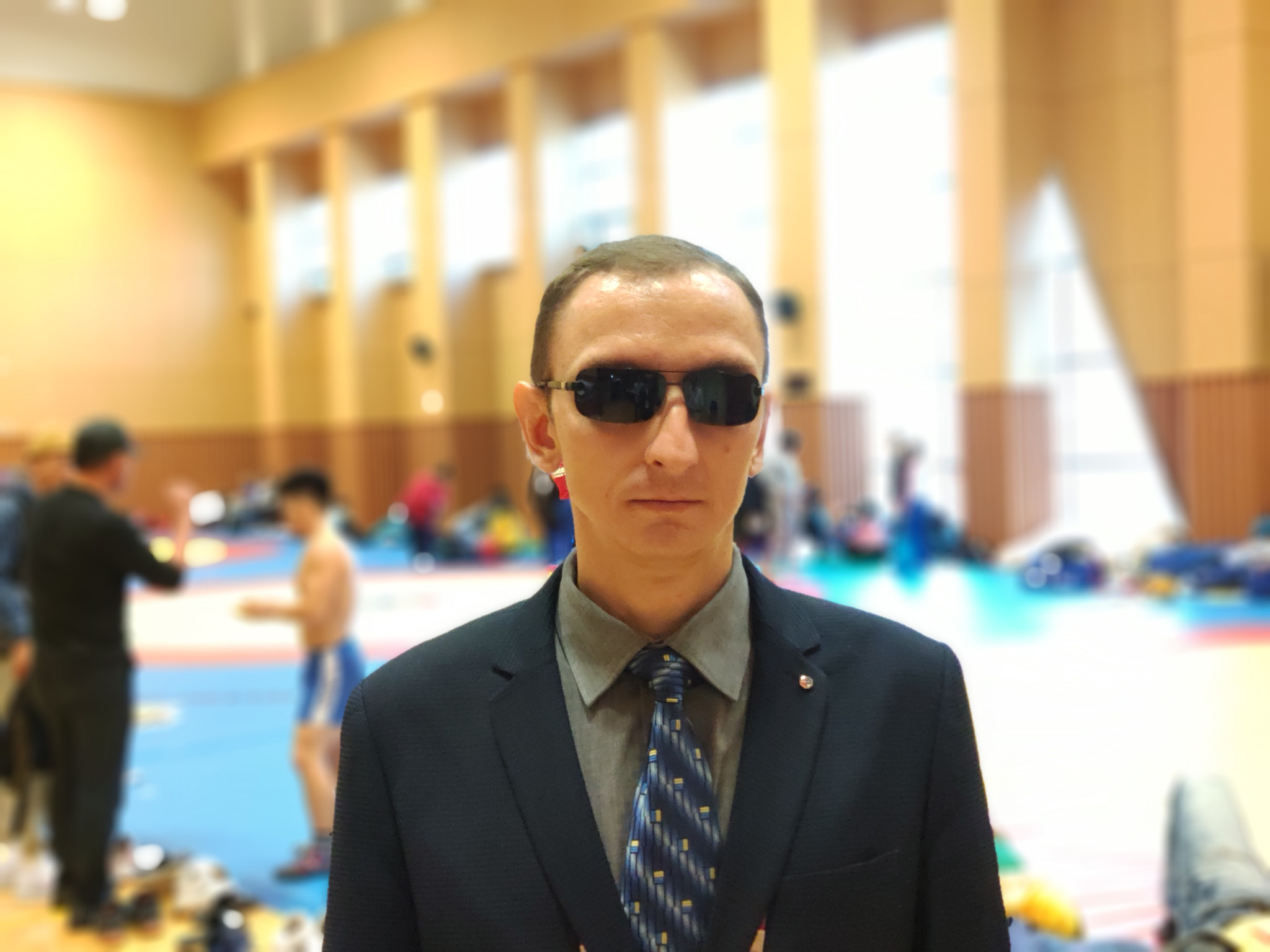 Blind sambo demonstration showcases inclusivity for all at World Championships