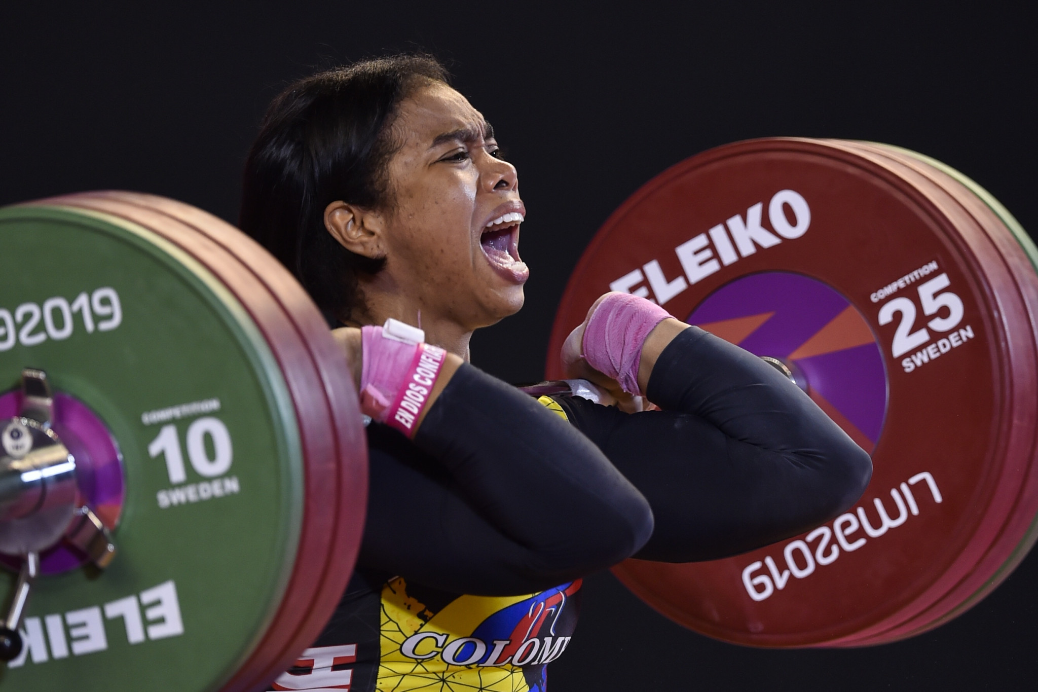 Leidy Solis won the 76kg event at the IWF Grand Prix in Lima ©Getty Images