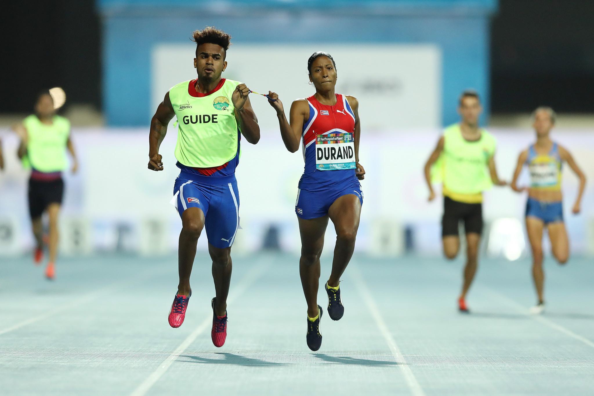 Perfect 10 for Durand at World Para Athletics Championships