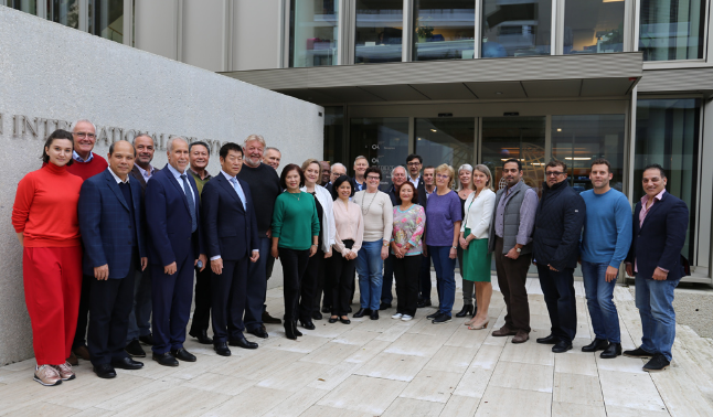 The FIG Executive Committee held its fourth meeting of the year in Lausanne ©FIG