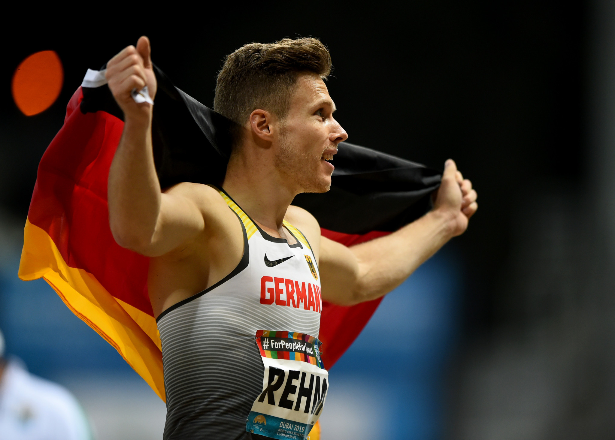 Rehm in seventh heaven at World Para Athletics Championships