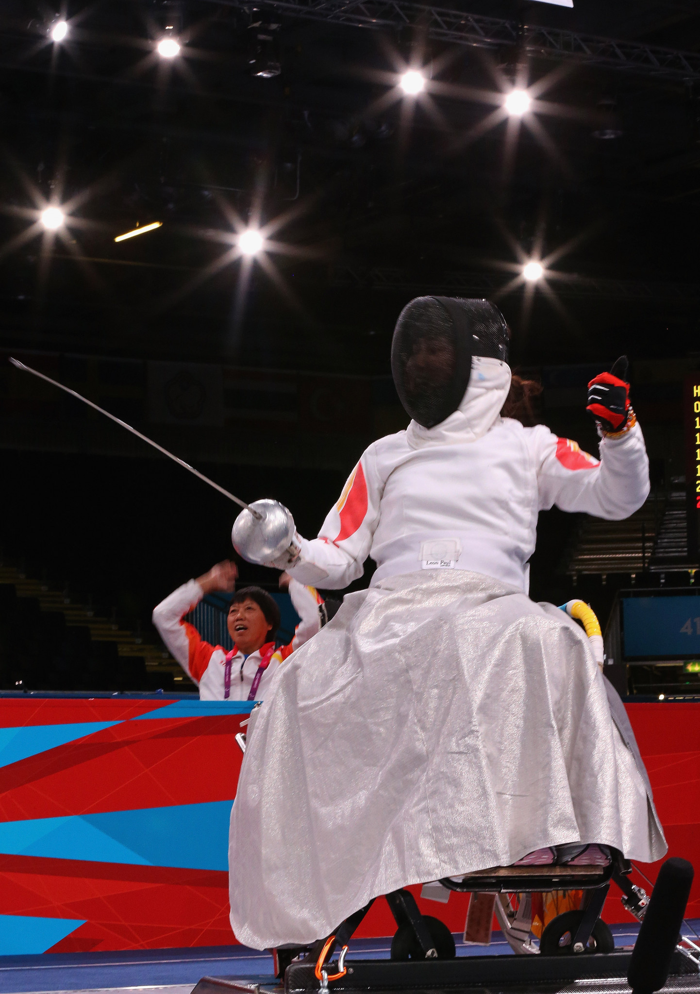 China dominate day one of IWAS Wheelchair Fencing World Cup in Amsterdam
