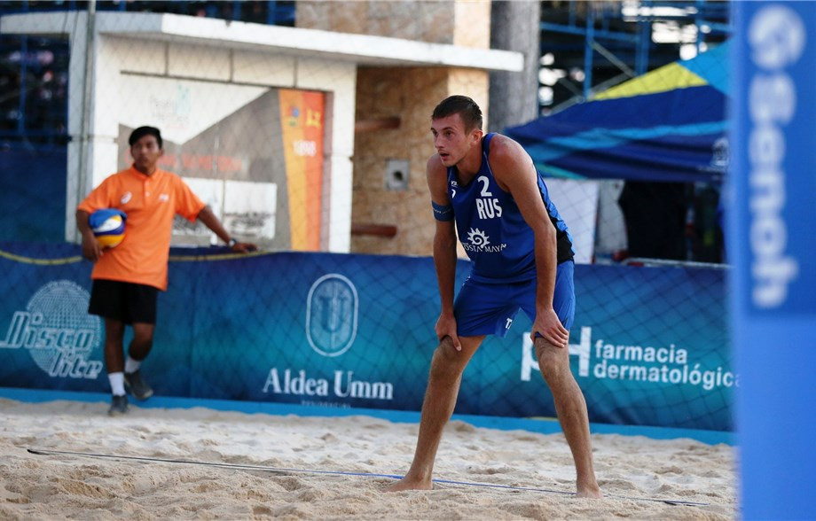 Russian pair claim opening day victory at FIVB Chetumal Open