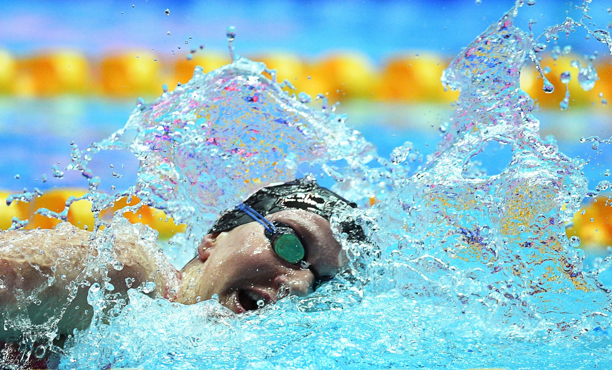 World records under threat as Americans do battle at International Swimming League meet in Maryland