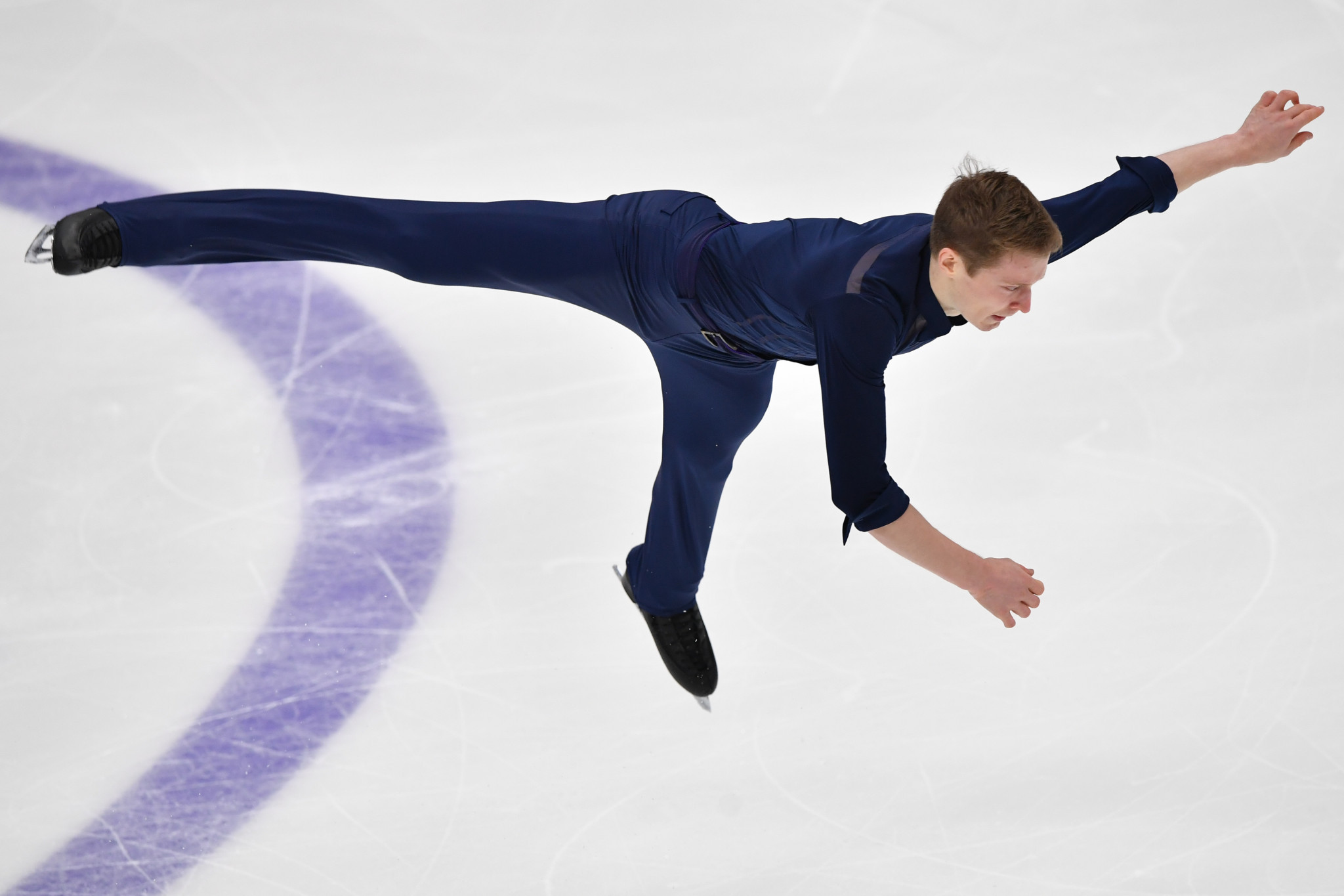 Samarin leads as Russians dominate men's competition at Rostelecom Cup