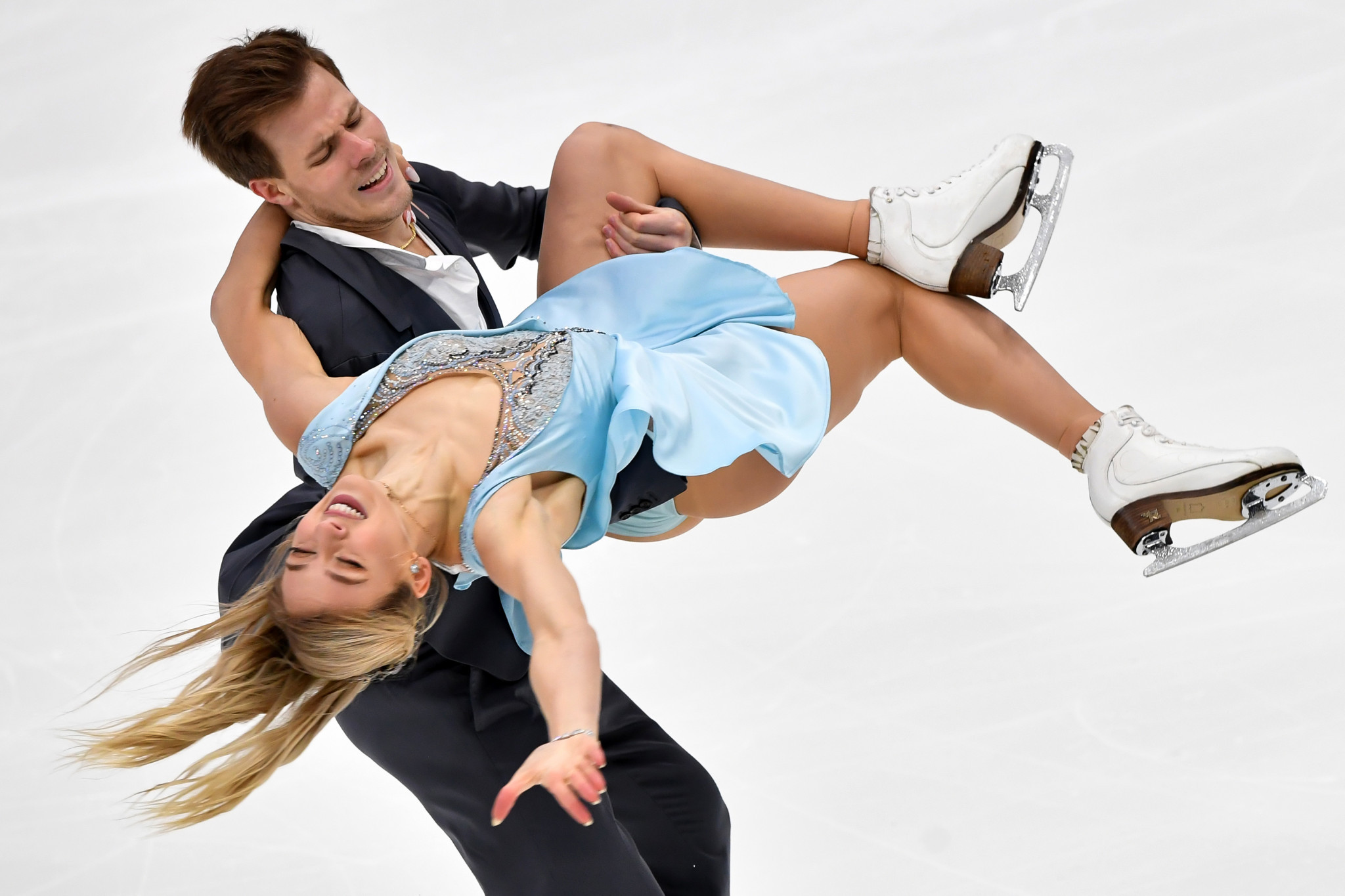 Victoria Sinitsina and Nikita Katsalapov from Russia are seeking a second successive ISU Grand Prix of Figure Skating victory in Moscow ©Getty Images