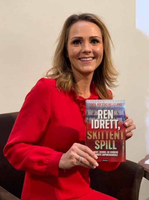 Linda Helleland made the claim in her new book ©Linda Helleland/Twitter
