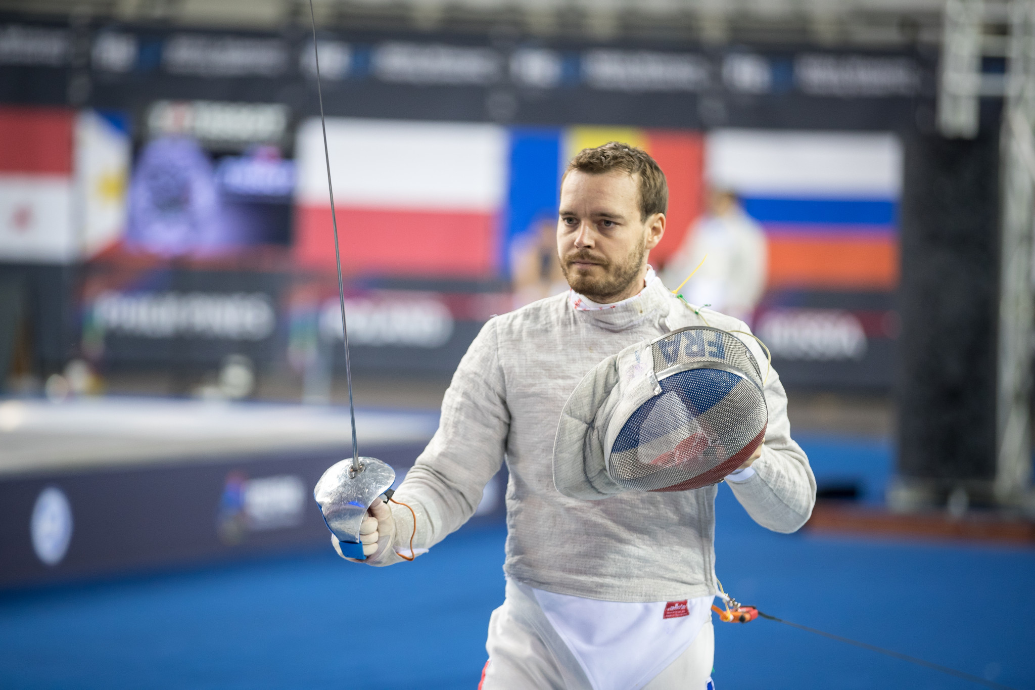 Frenchman Anstett claims FIE Men's Sabre World Cup glory