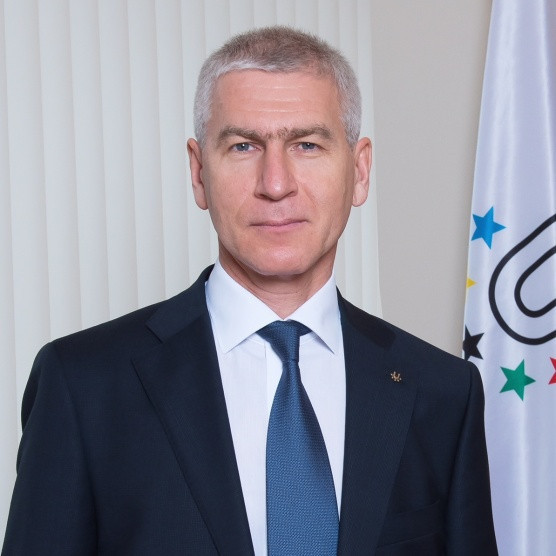 FISU President Oleg Matytsin opened the 2020 FVLA sessions online ©FISU