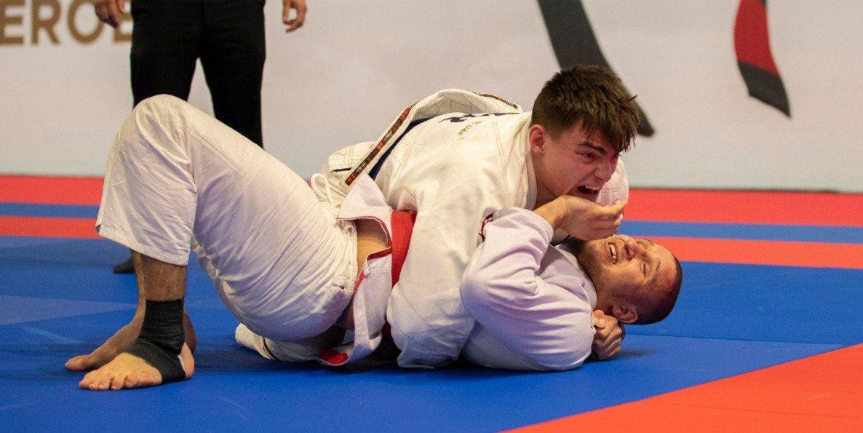 Samokhin claims under-21 heavyweight title at JJIF World Championships