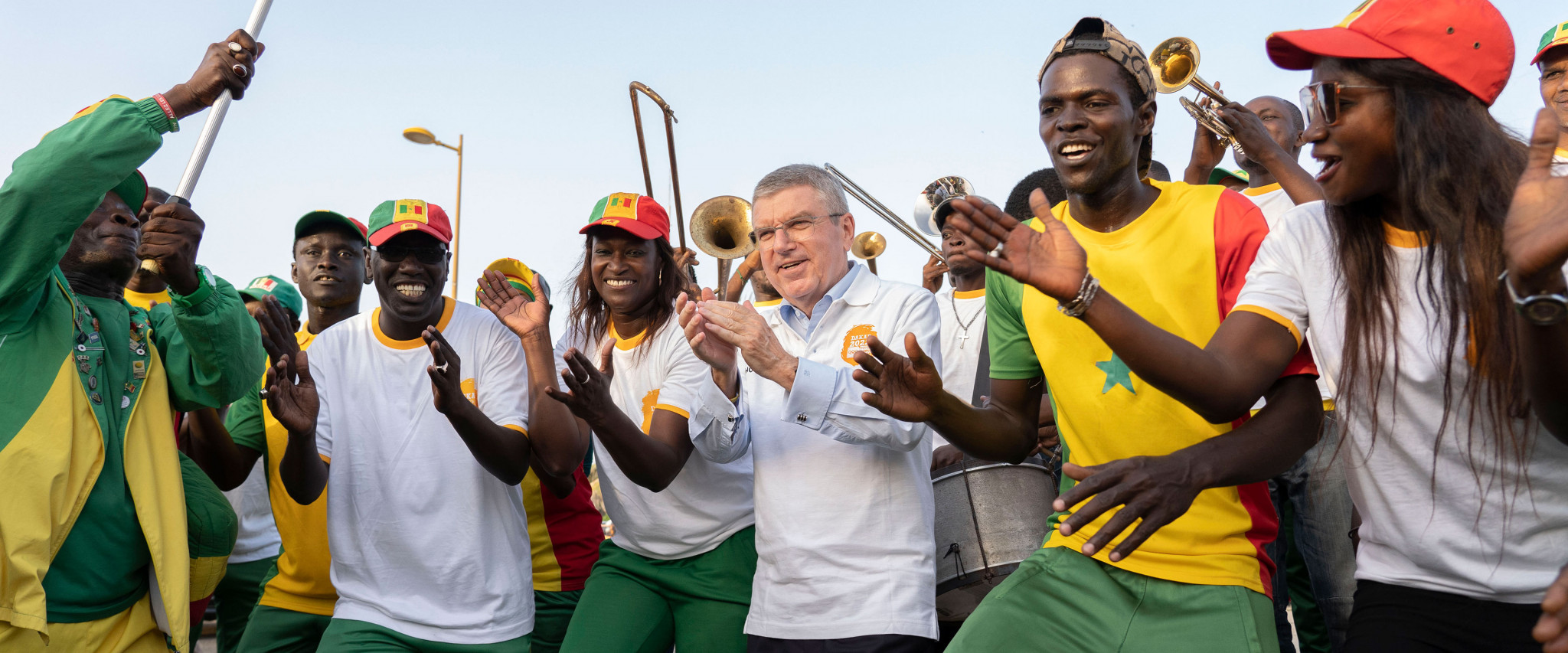 Bach visits Senegal to assess Dakar 2022 preparations