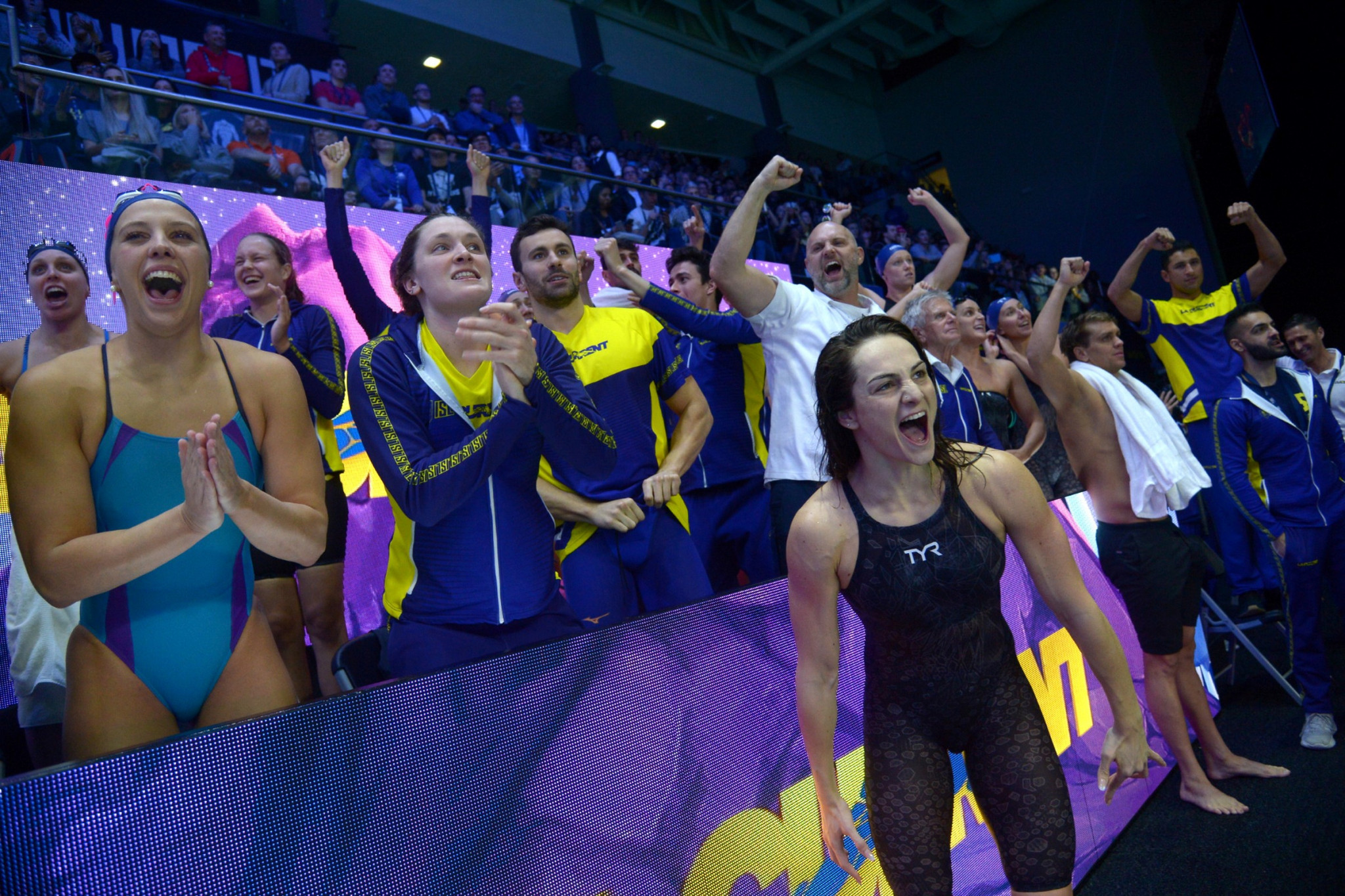 Gastaldello seals American derby win for LA Current at International Swimming League