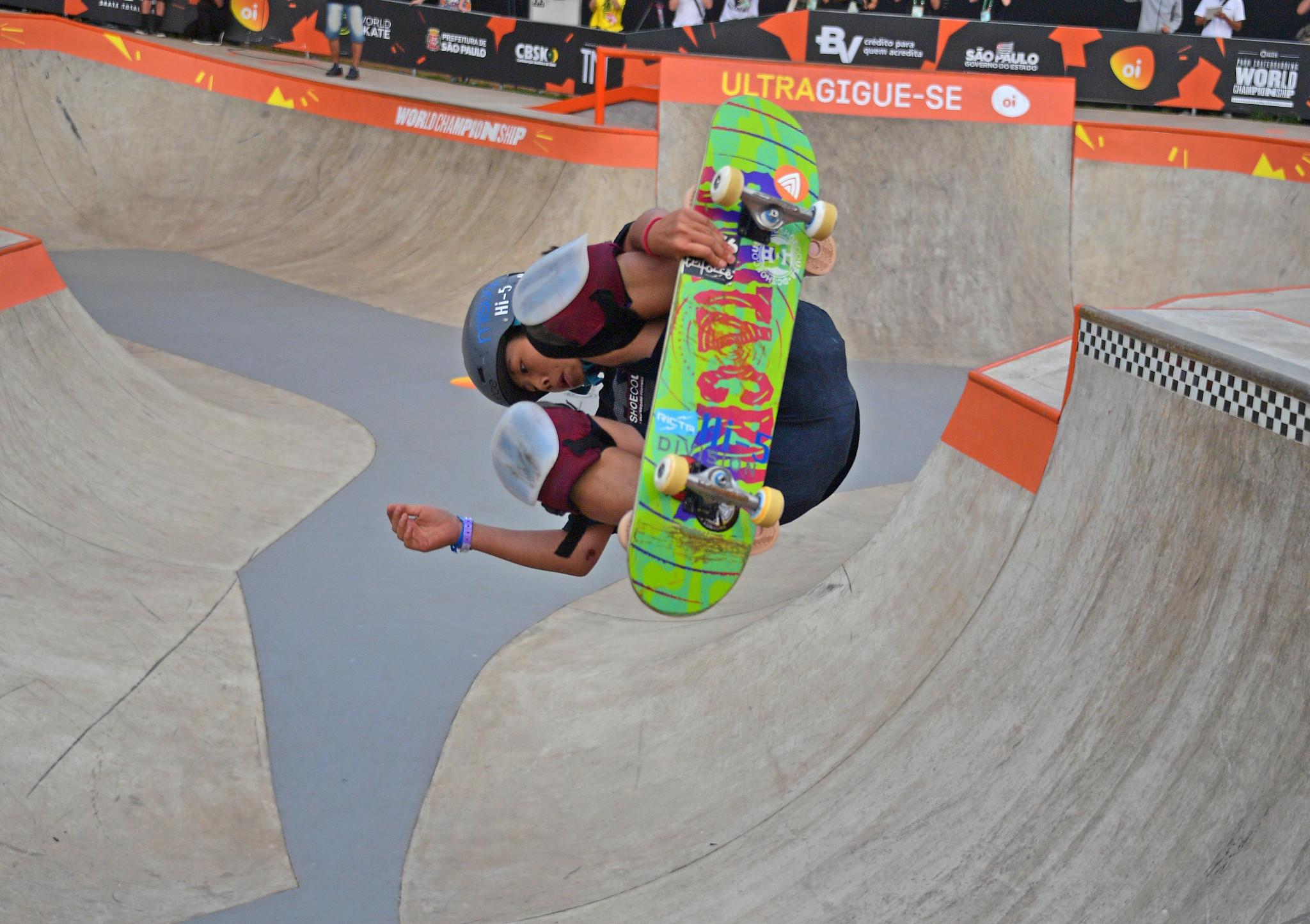 Misugu Okamoto starred again in Rio de Janeiro ©Getty Images