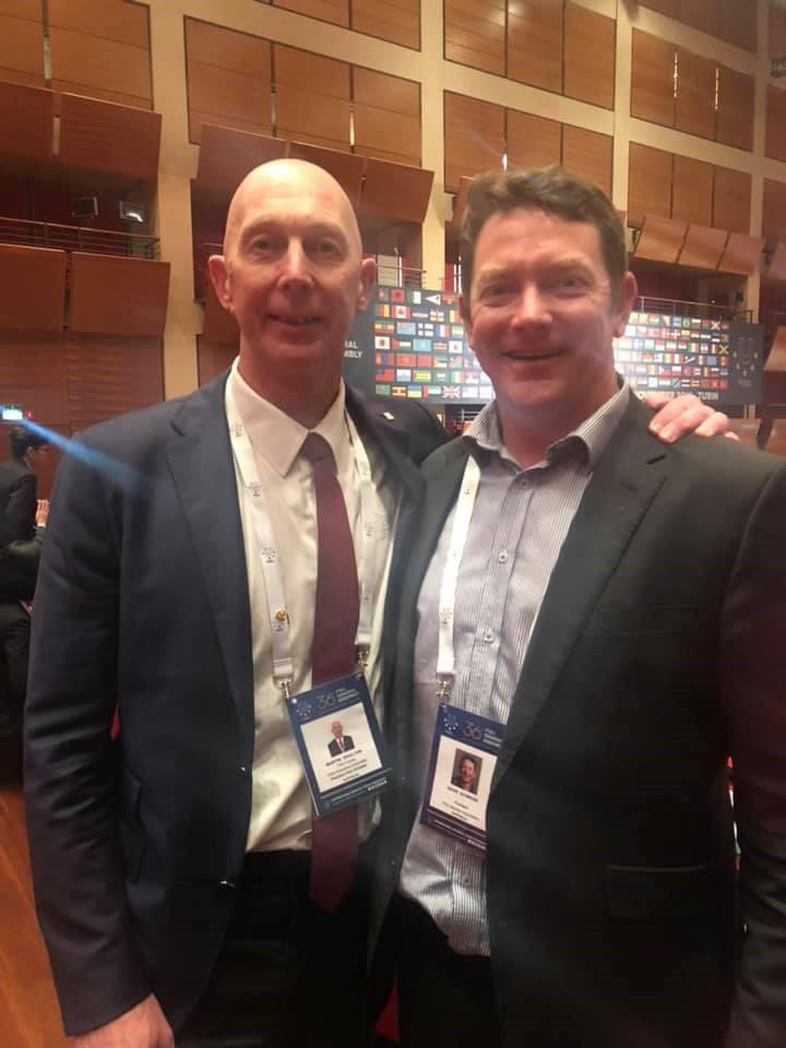 Unisport Australia chief praises Doulton's FISU Executive Committee appointment