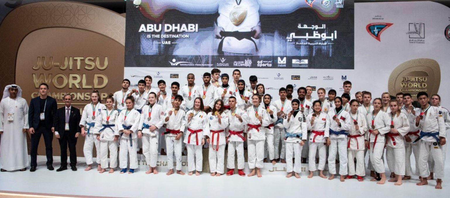 Slovenia claim three golds at Ju-Jitsu World Championships