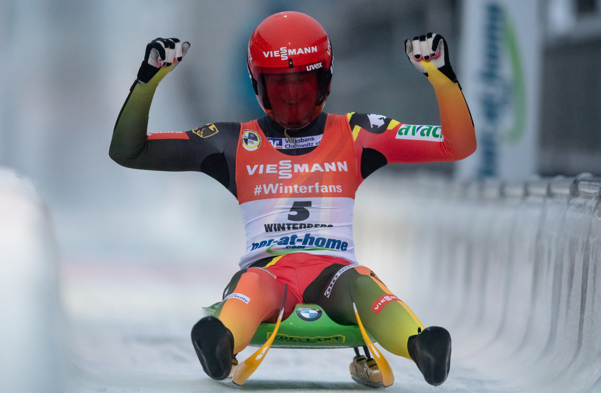 Taubitz aiming to follow in footsteps of Geisenberger during Luge World Cup season
