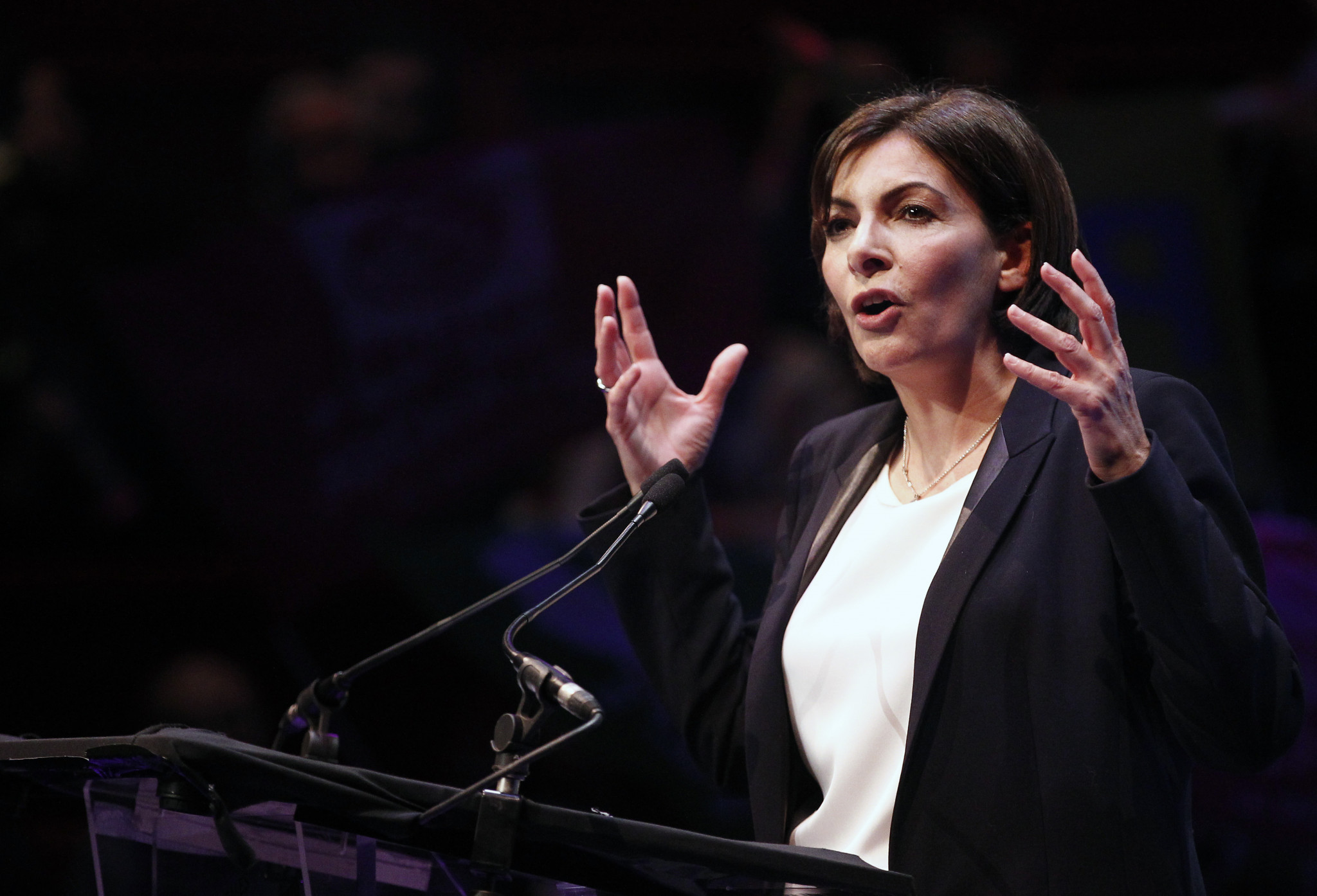 Paris Mayor Hidalgo hits out at cement giant accused of Seine pollution