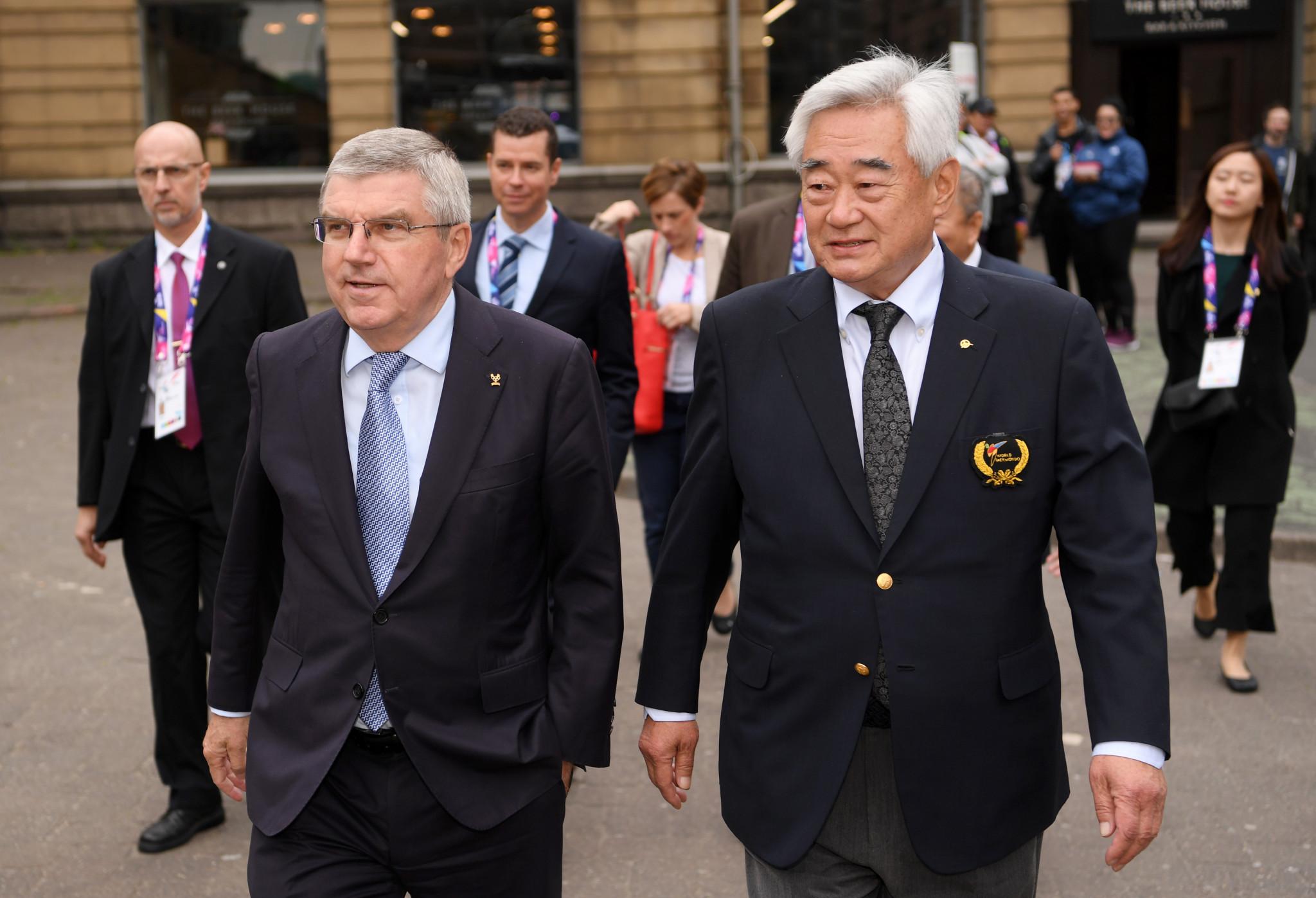 World Taekwondo President Choue among Peace and Sport International Forum speakers