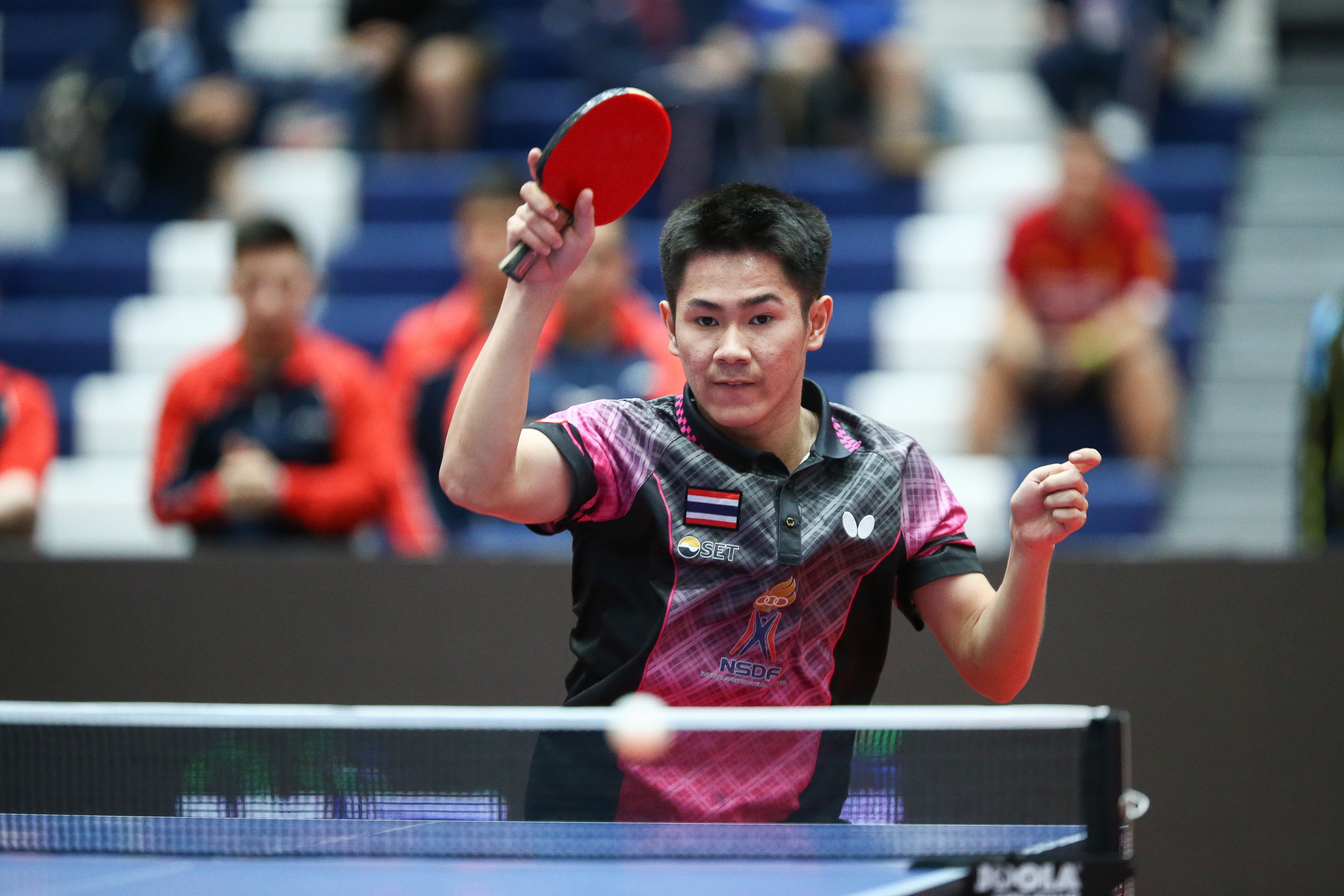 Hosts Thailand struggle on opening day of ITTF World Junior Table Tennis Championships