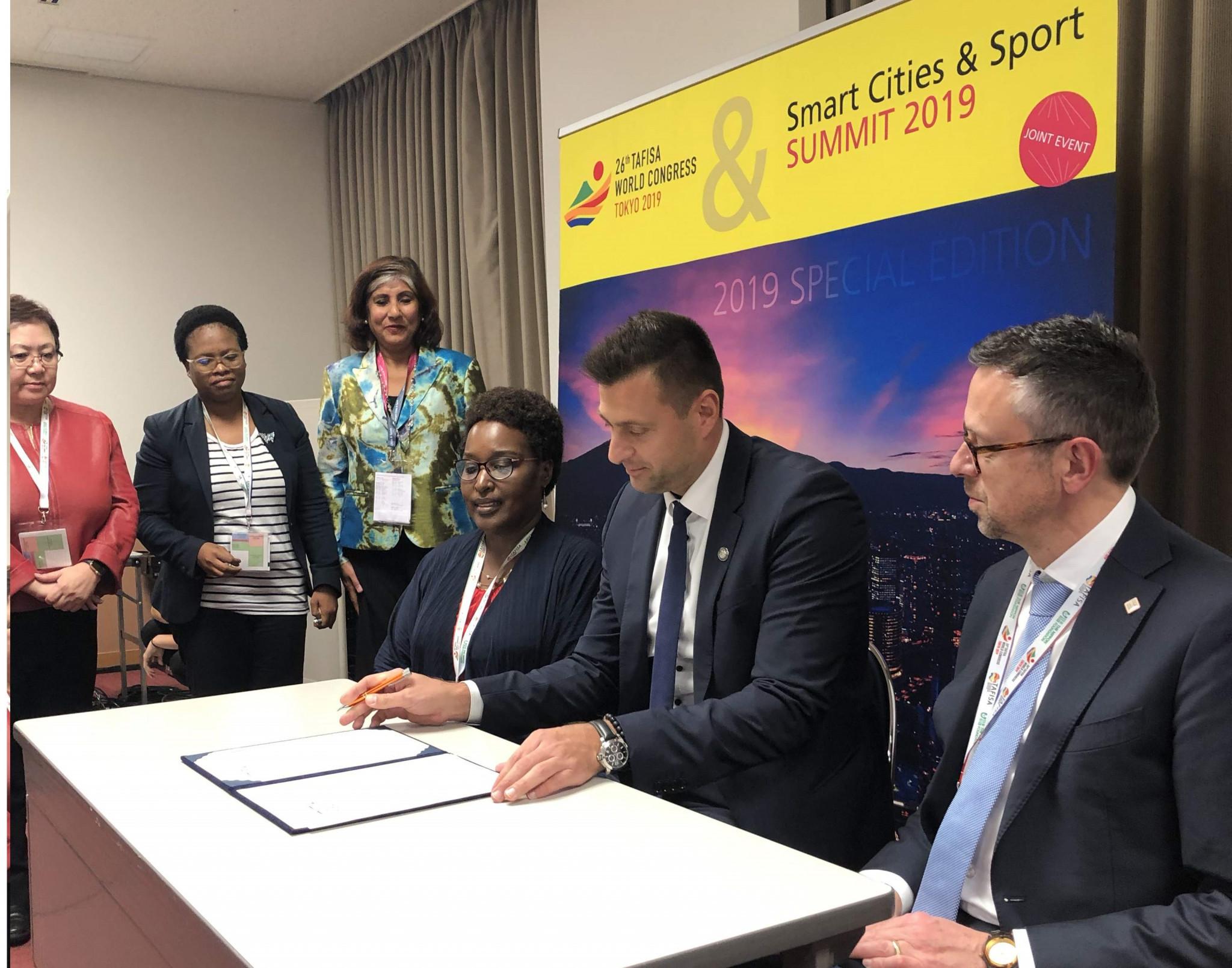 FITEQ sign Brighton plus Helsinki Declaration on Women and Sport
