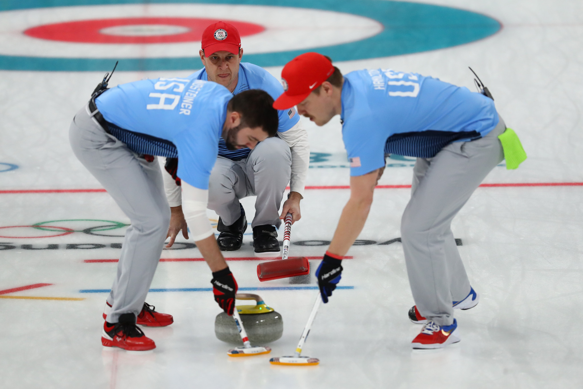 """USA Curling announced the """"My First Curling Broom"""" programme ©Getty Images"""