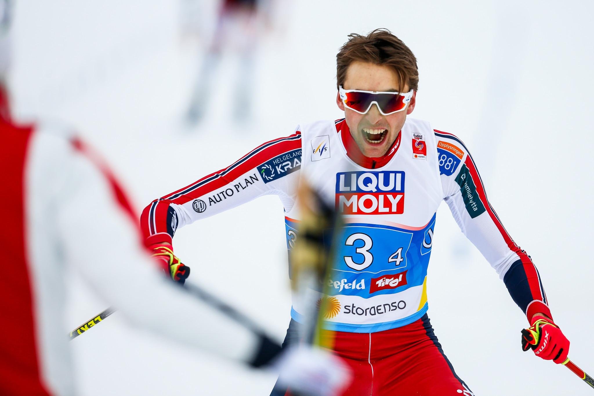 Norway's Jarl Magnus Riiber dominated last season ©Getty Images
