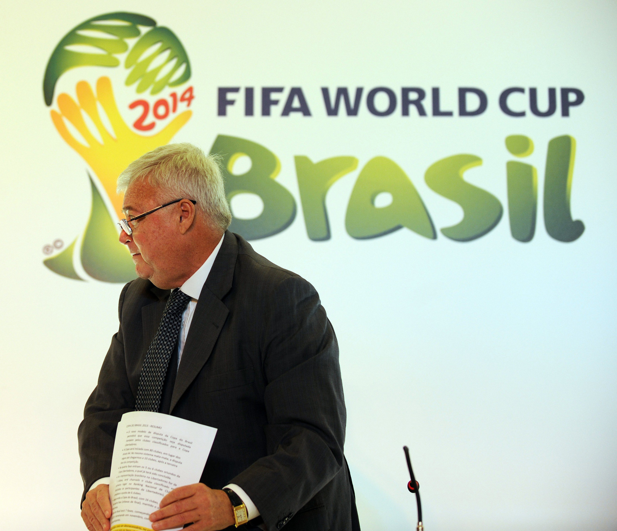 Former Brazilian Football Confederation President Teixeira was a member of FIFA's Executive Committee for almost 20 years before being given a life ban in November 2019 for bribery ©Getty Images