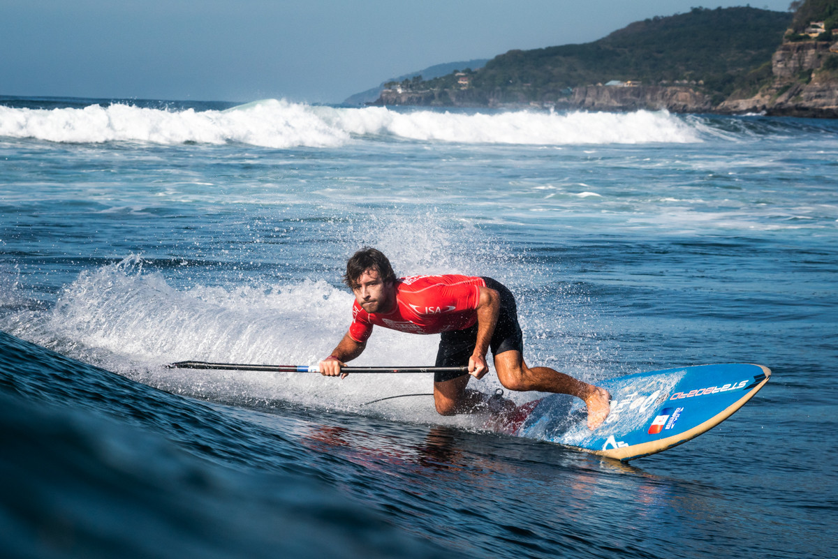 Carpentier and Salazar star in round three of SUP surf contest in El Sunzal