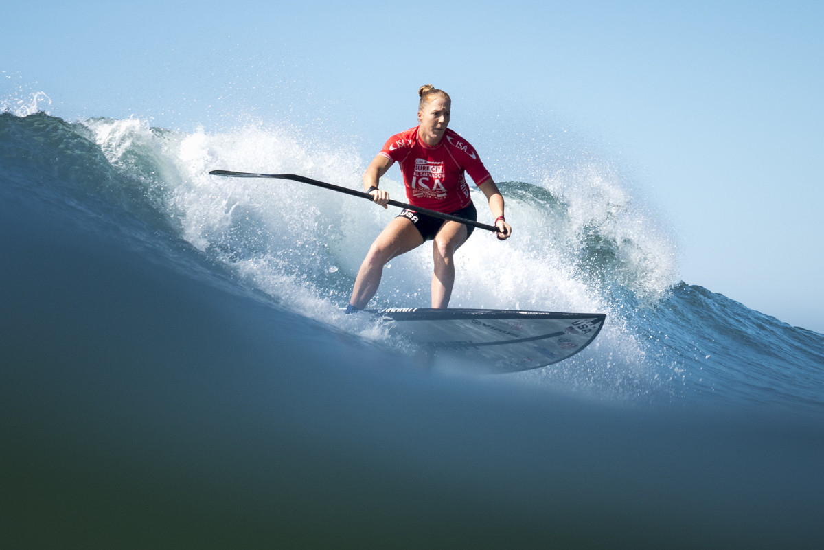 Dupont and Carpentier put French on brink of ISA World SUP and Paddleboard Championship glory