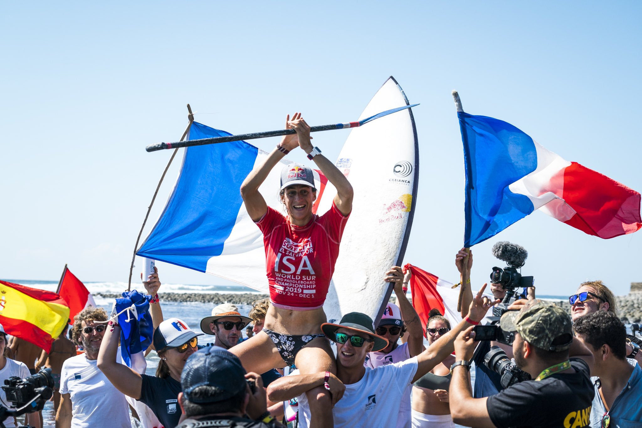 Dupont and Carpentier secure maiden ISA World SUP and Paddleboard Championship title for France