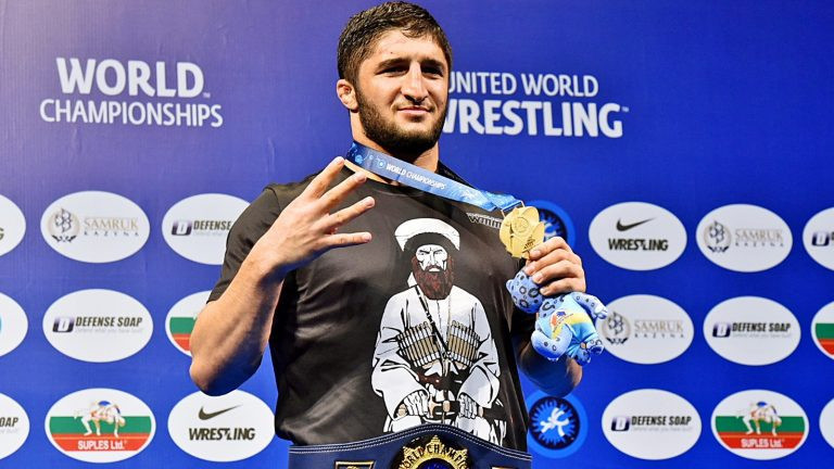 Russian Olympic and world champion banned for four months by United World Wrestling