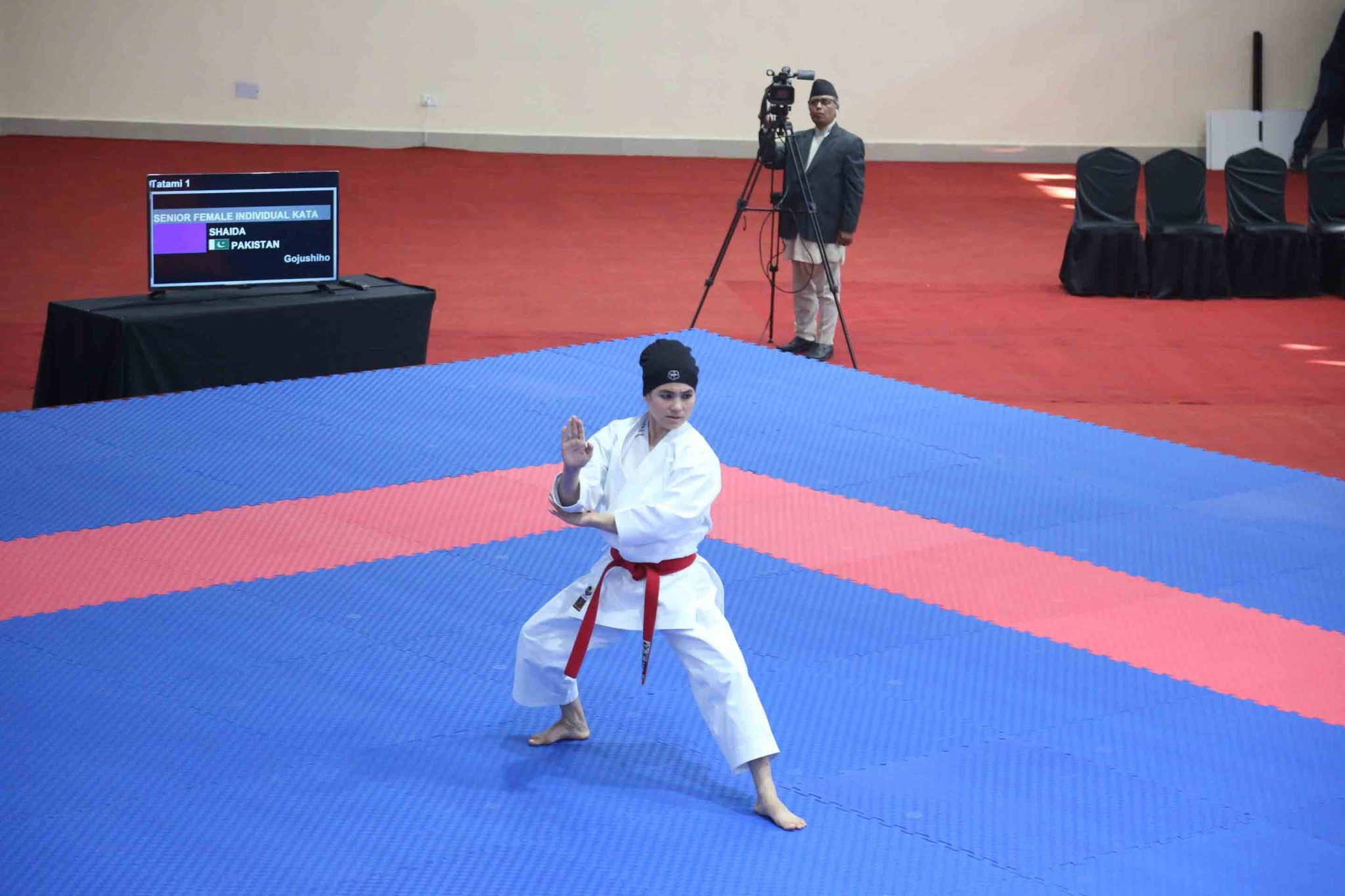 A number of medals were won in karate ©South Asian Games