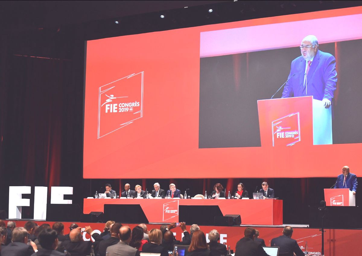 International Fencing Federation President Alisher Usmanov is on course to have donated CHF80 million to the world governing body by next year ©FIE