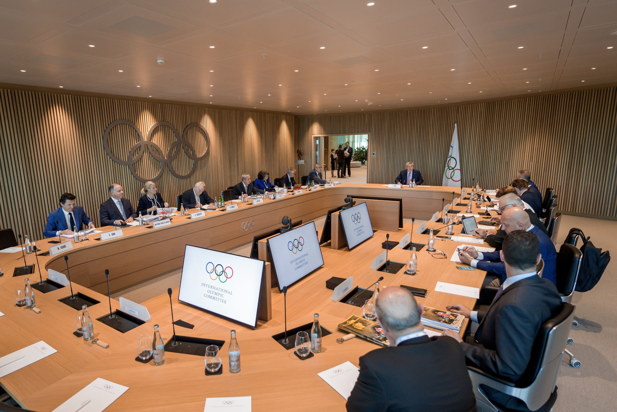 The IOC Executive Board will meet at Olympic House in Lausanne this week ©Getty Images
