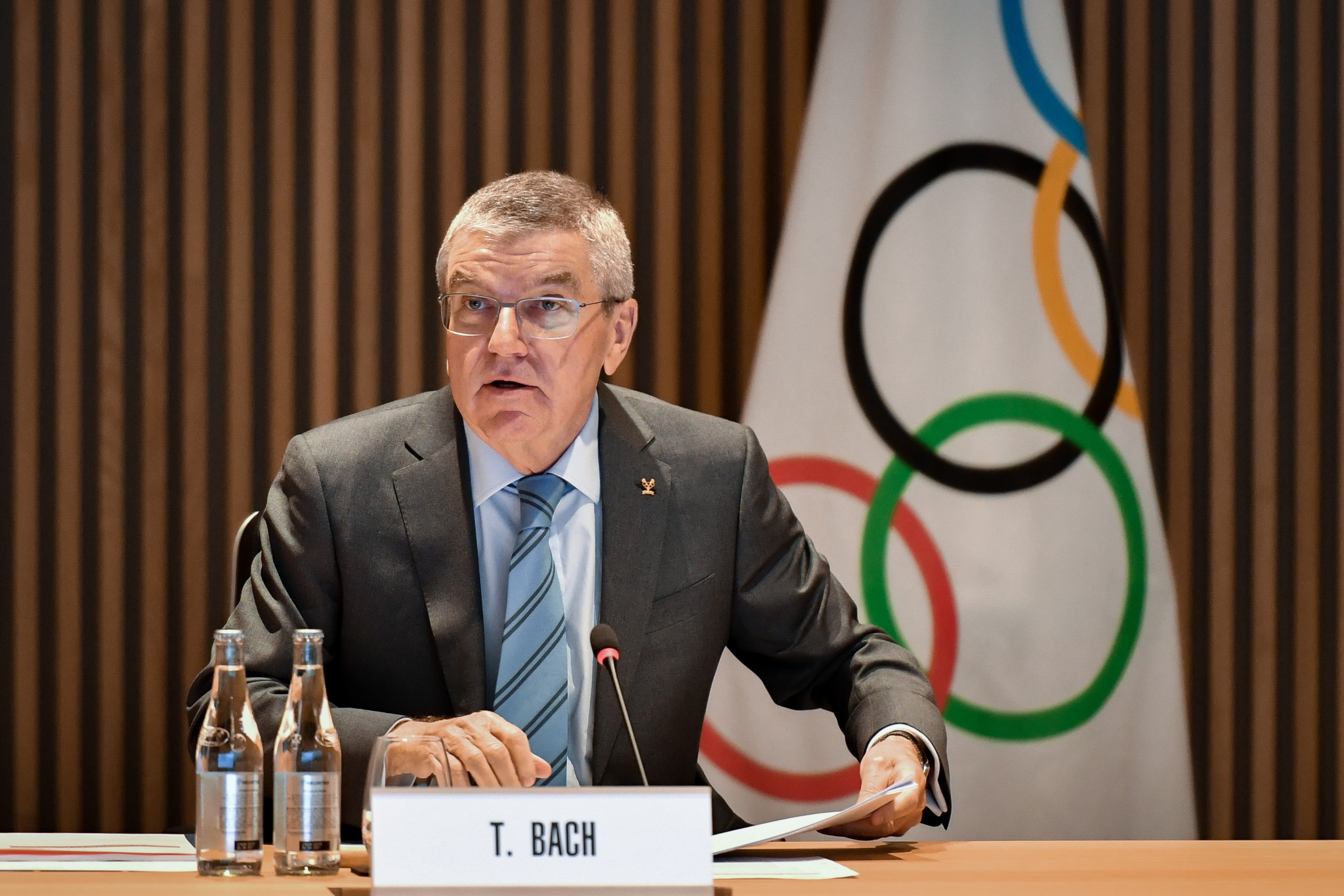 IOC President Thomas Bach has been personally asked to intervene by the trade union ©Getty Images