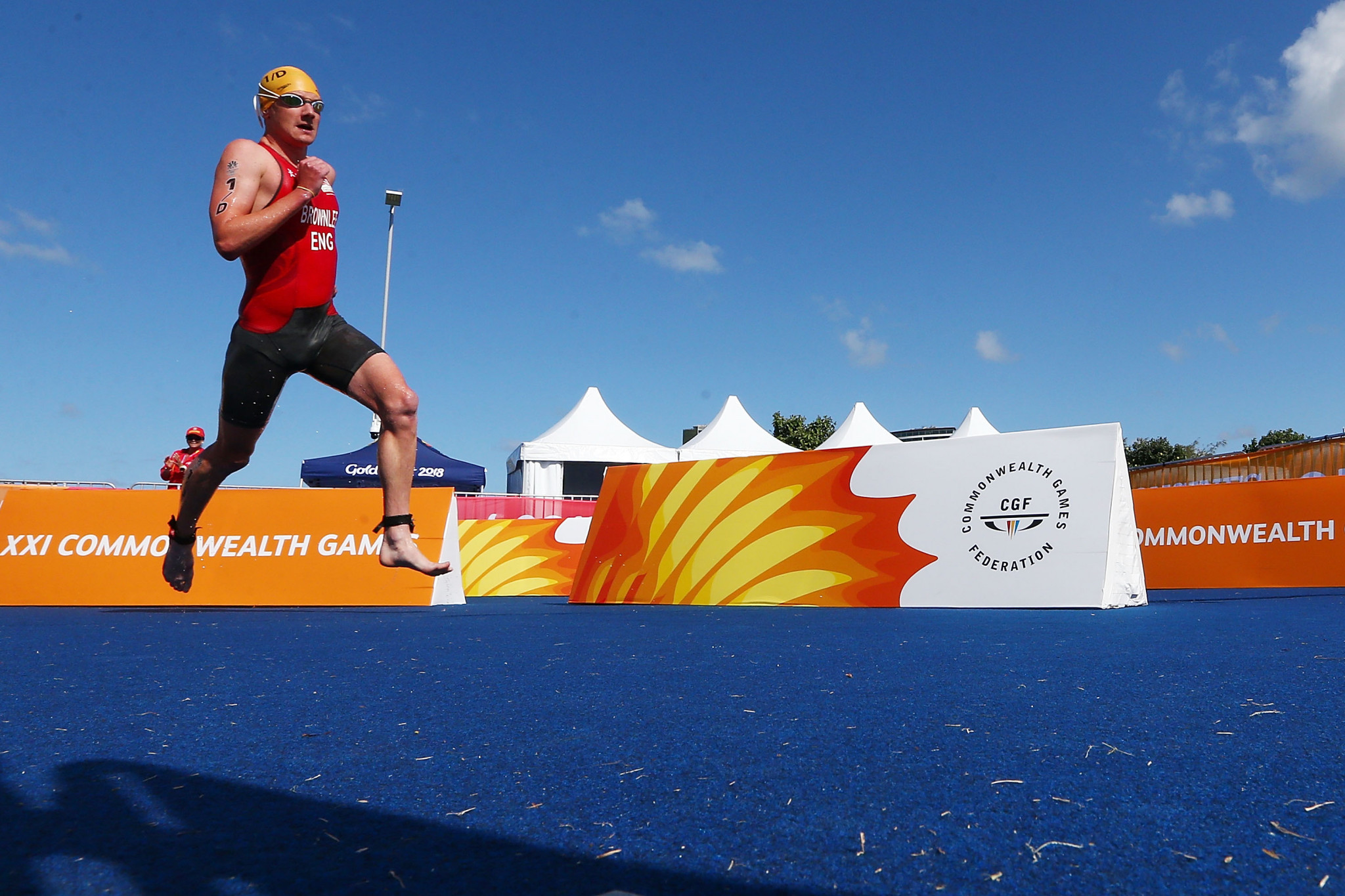 Zara Hyde Peters has also departed as chair of the Birmingham 2022 Athletes Advisory Committee, whose members include triathlete Alistair Brownlee ©Getty Images