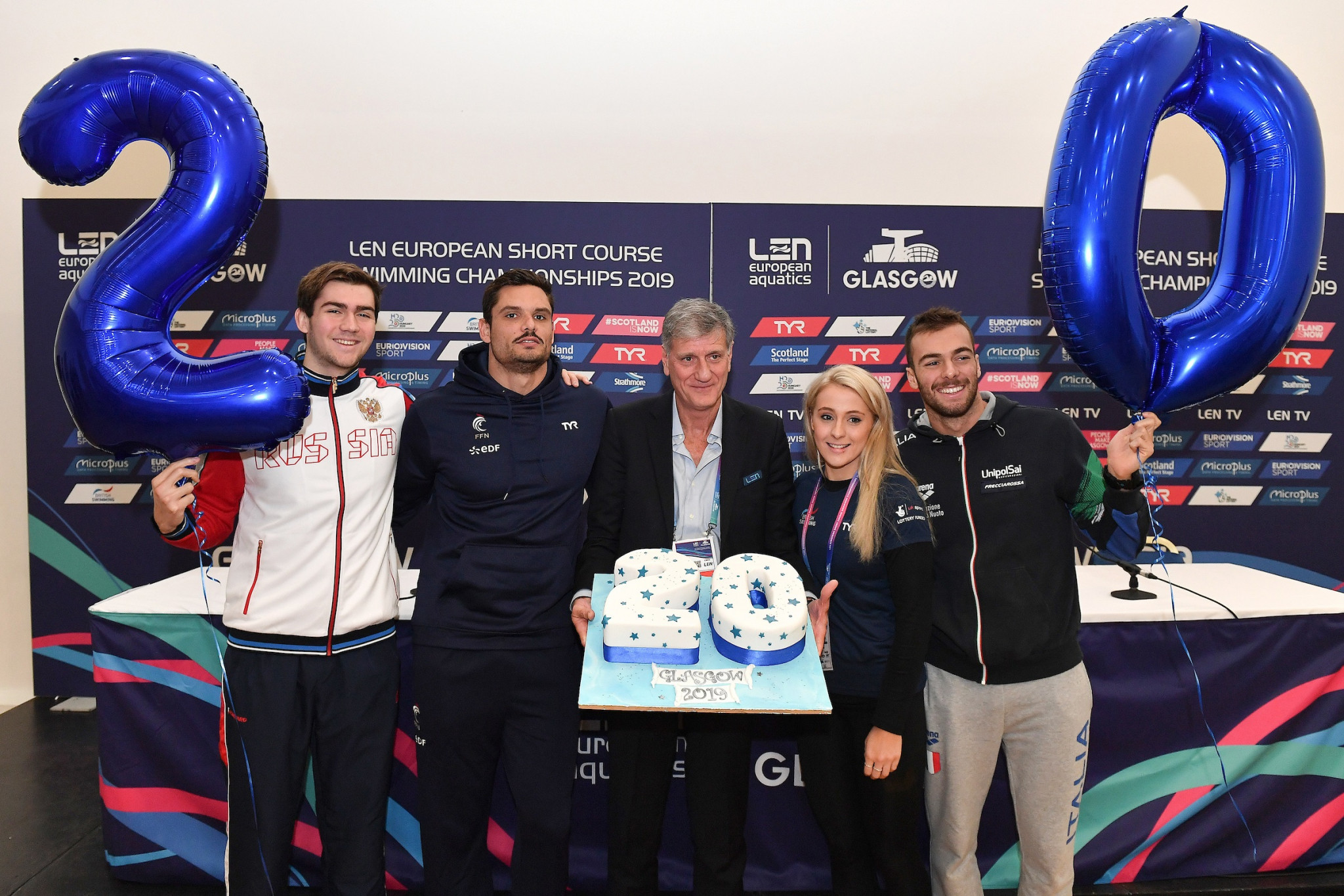 Stellar line-up confirmed for 20th edition of European Short Course Swimming Championships