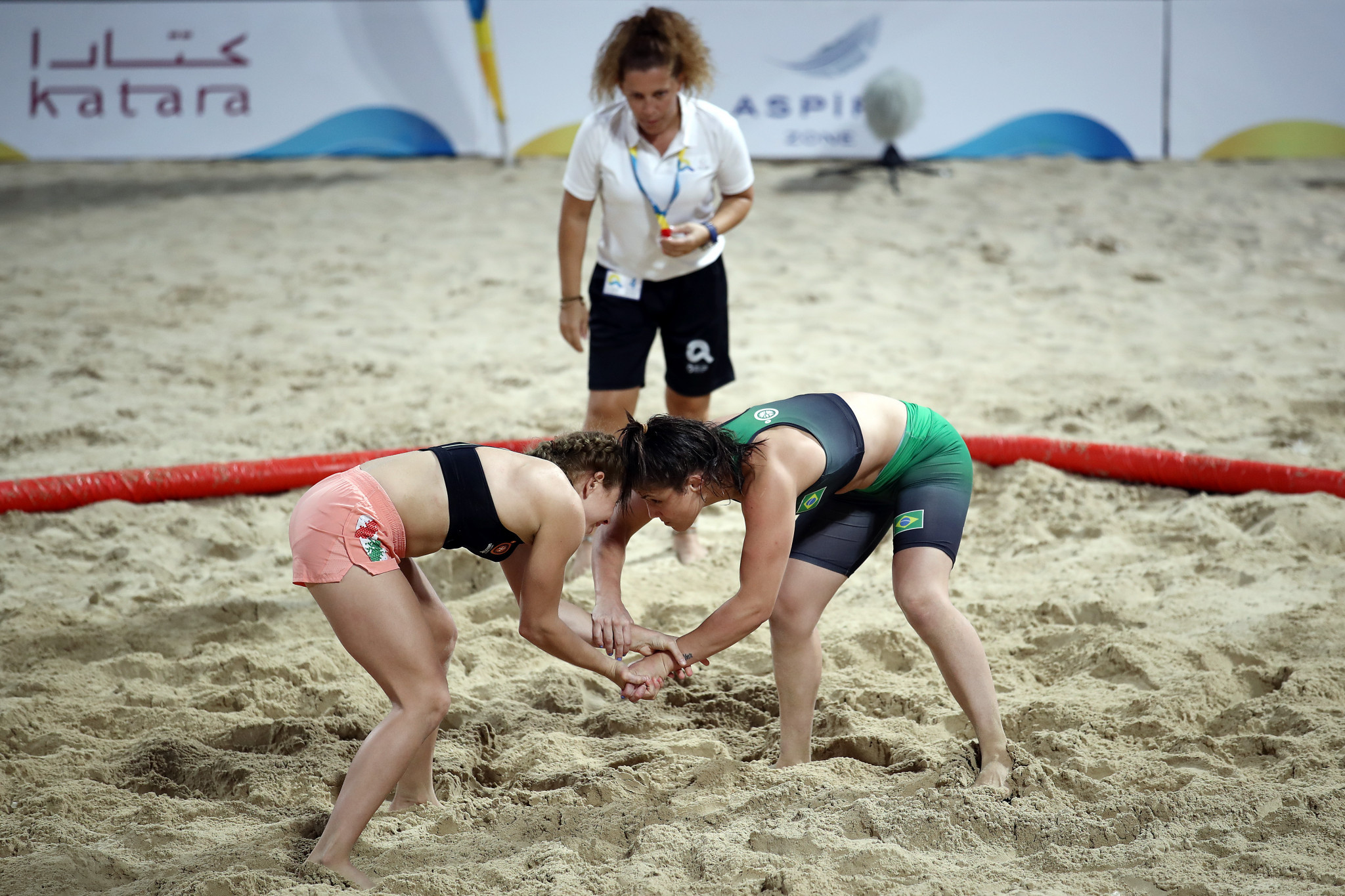 Beach wrestling will make its Youth Olympic debut at Dakar 2022 ©Getty Images
