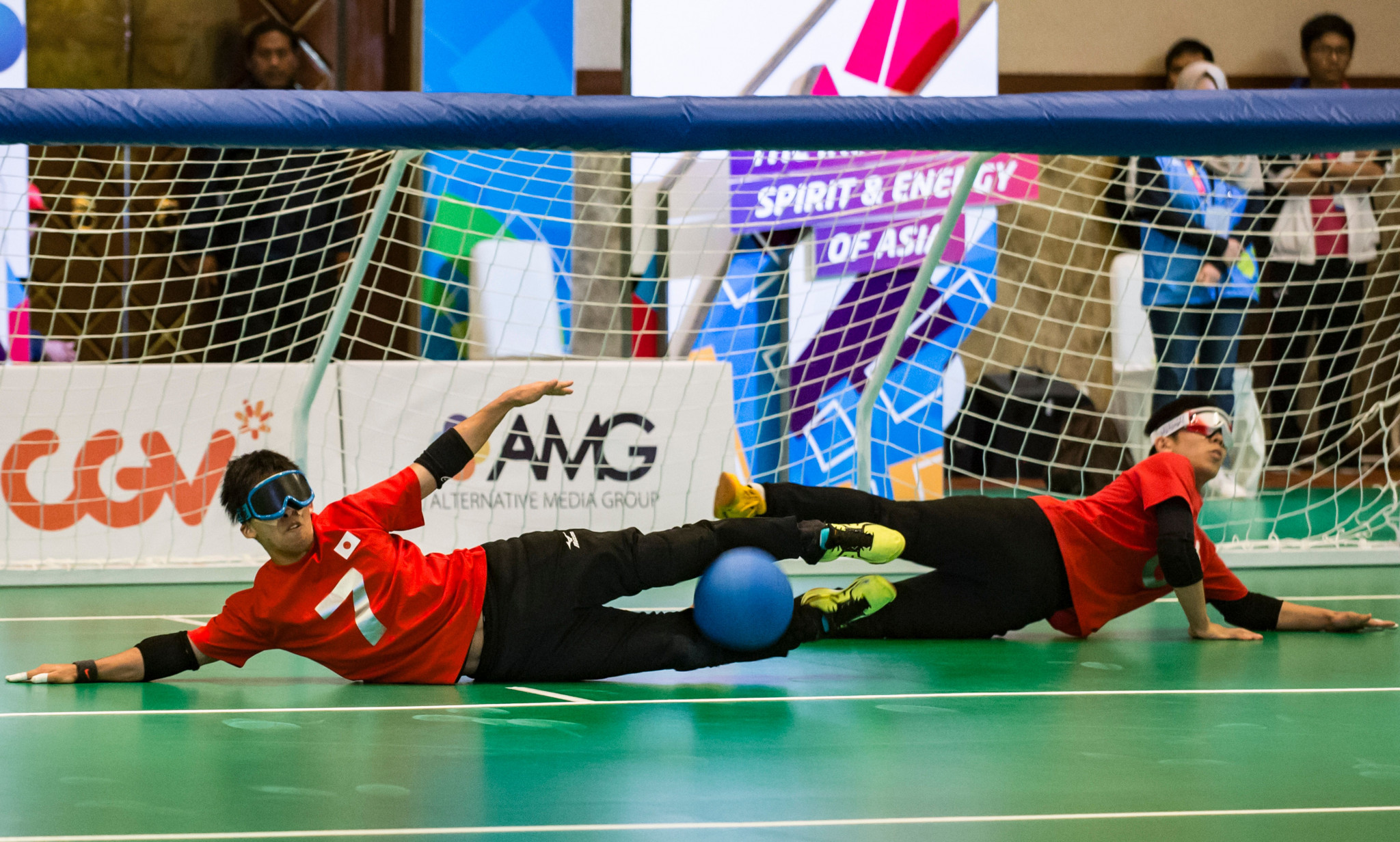 Tokyo 2020 the prize at IBSA Goalball Asia-Pacific Championships