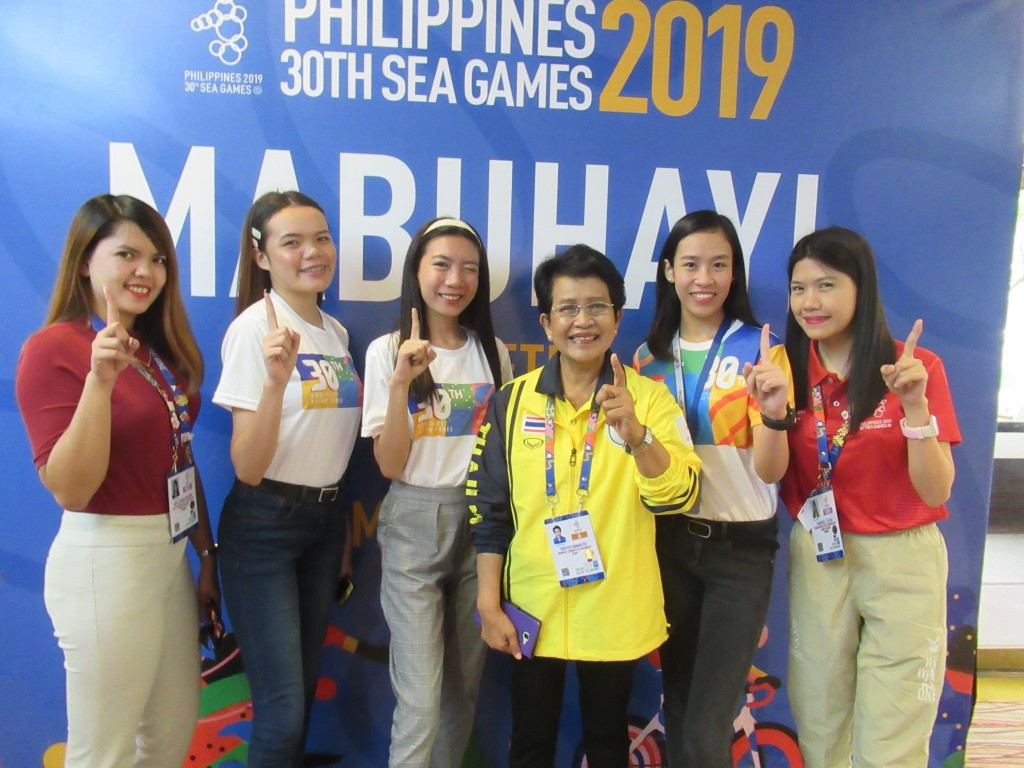 Thai official impressed by percentage of female athletes in delegations at Southeast Asian Games